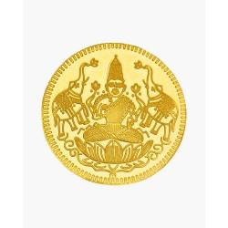 1 Grm Gold Laxmi 916 Coin