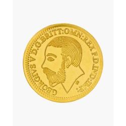 1 Gram Gold King 916 Coin 2